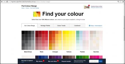 Request Colour Samples